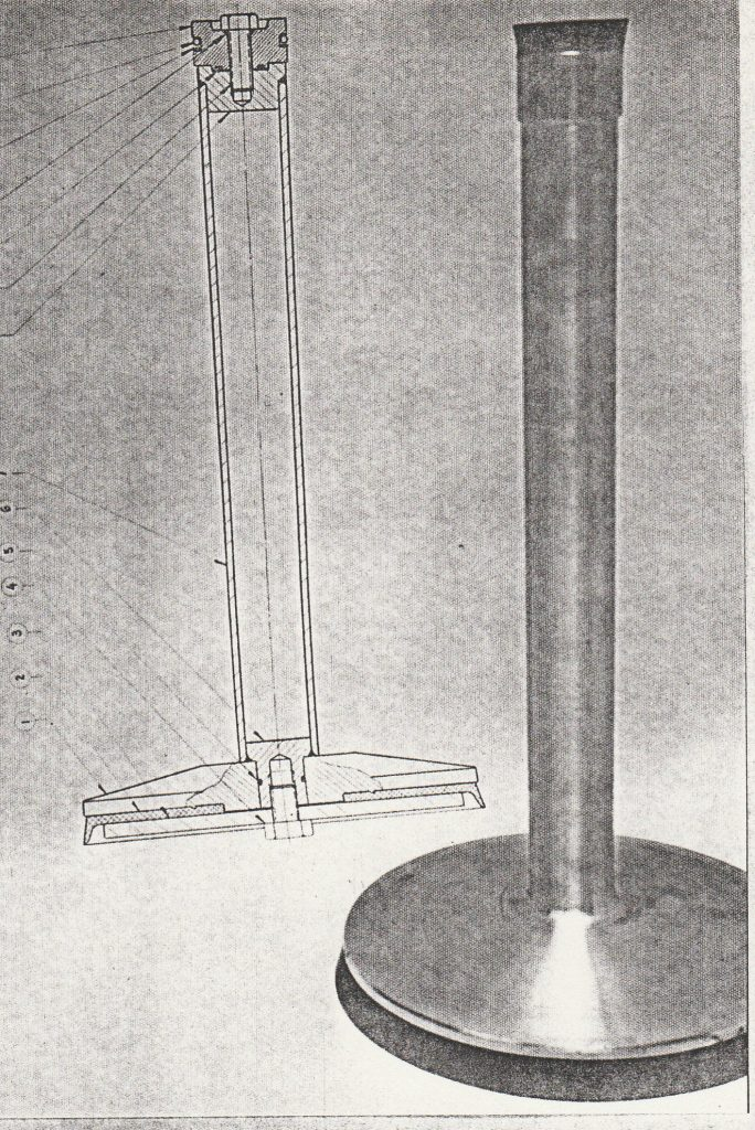 My Father also designed new Hydraulic cylinders